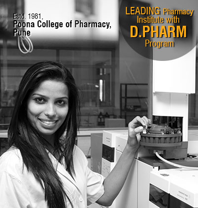 Leading Pharmacy Institute with D.PHARM Program, Poona college of Pharmacy, Pune